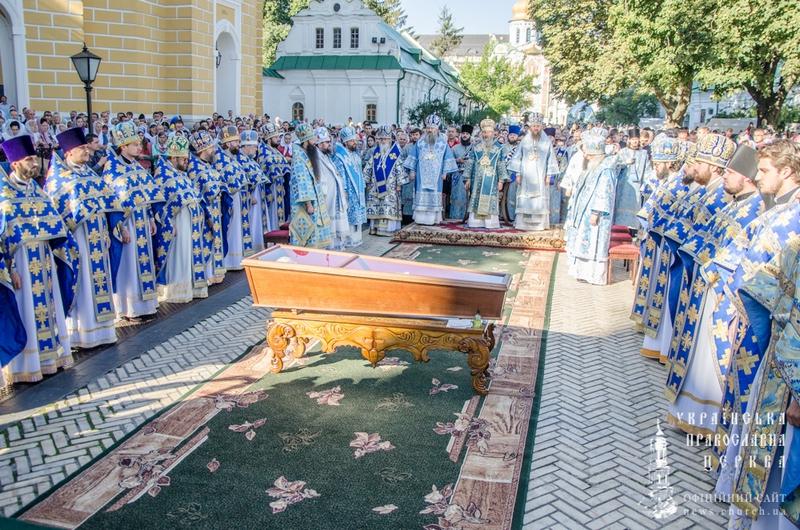 В Киево-Печерской Лавре состоялось прославление двух святых