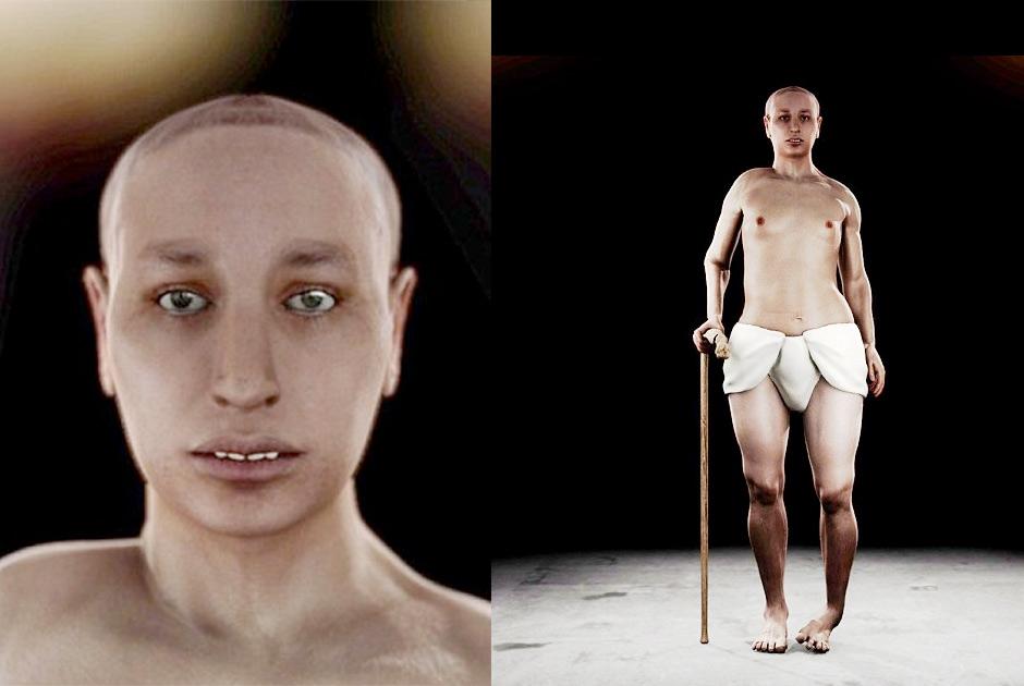2. Британские ученые с помощью виртуальной аутопсии воссоздали облик Тутанхамона — фараона XVIII дин