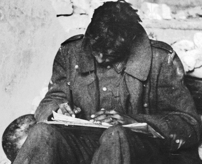Воспоминания пехотинца из книги Роберта Кершоу «1941 год глазами немцев»: Во время атаки мы наткнули