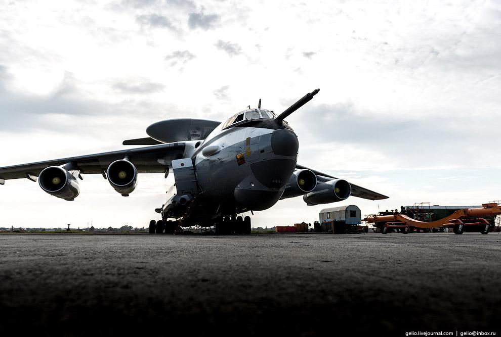 25. Самолёт ДРЛО А-50У — модификация с увеличенной дальностью полета и цифровым радиотехнически