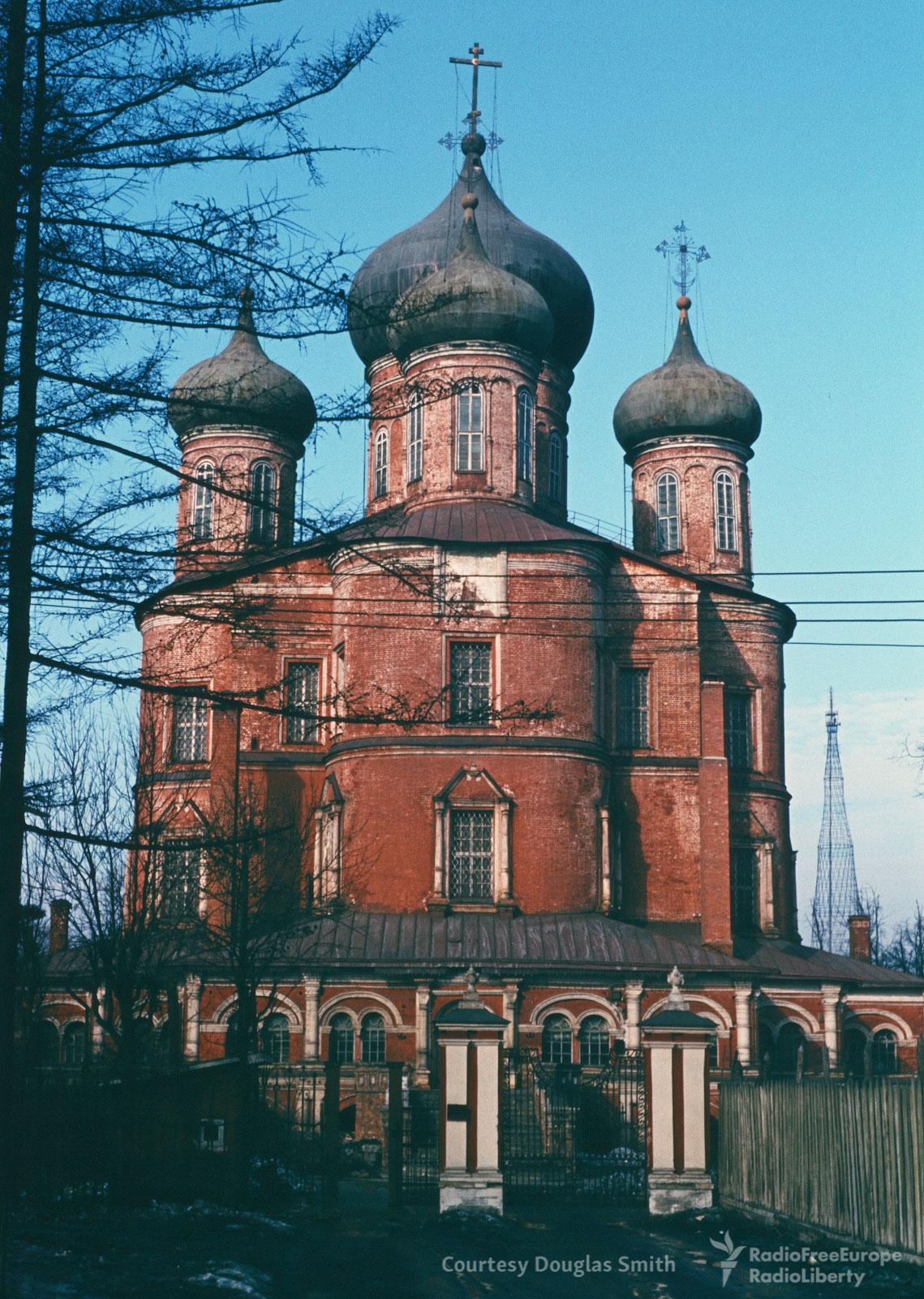 Донской монастырь.