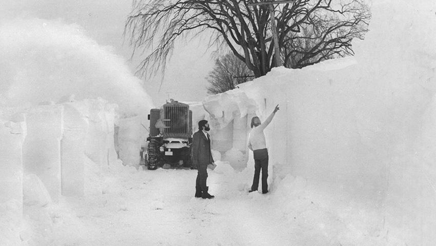 Самые сильные снегопады (10 фото)