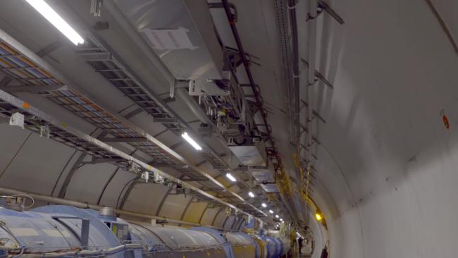 ВБольшой адронный коллайдер запустили для мониторинга робота-«инспектора»
