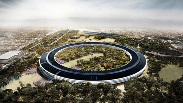 Как выглядит новый мегасовременными кабинет Apple: появилось видео