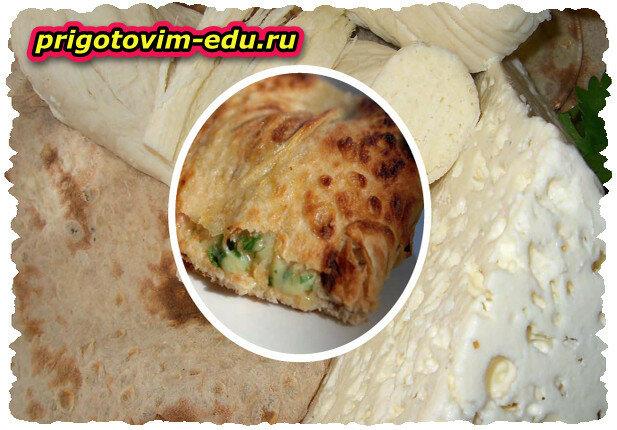 Сыр,запеченный в лаваше