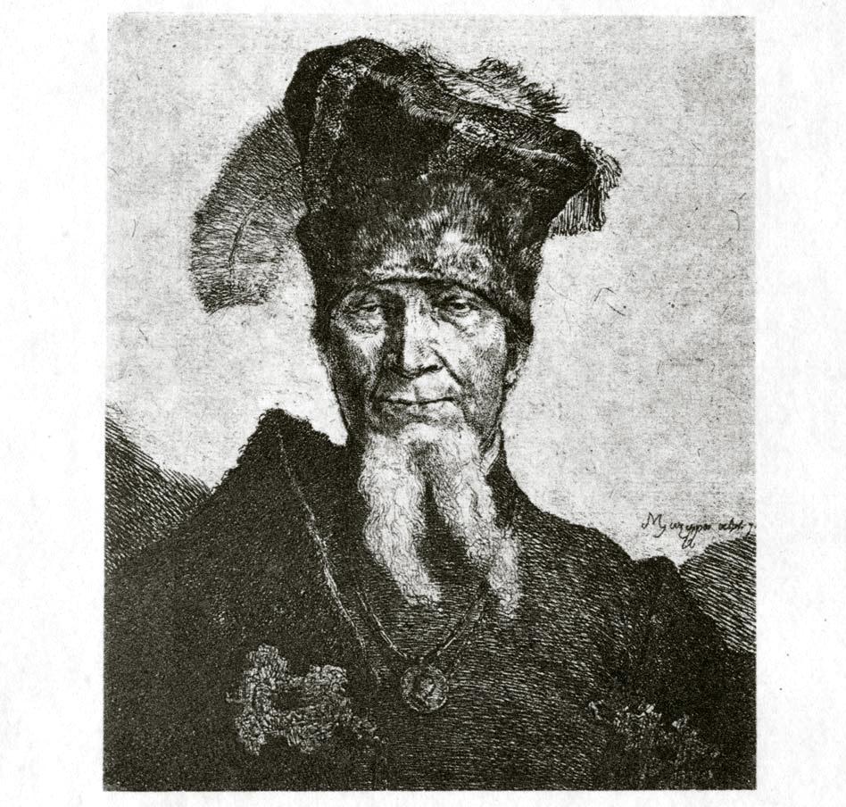 221. Поясное изображение Мазепы