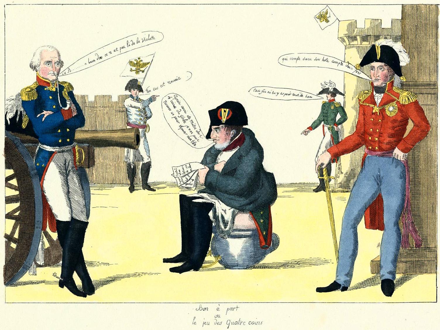 238. Наполеон в беде.