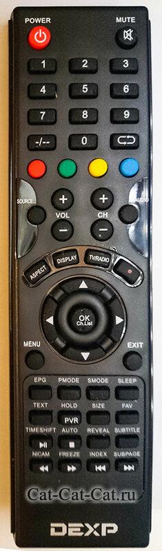Пульт для телевизора DEXP