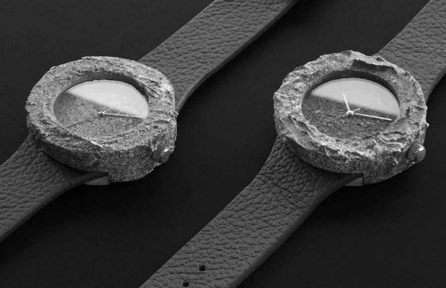Watch Created from a Genuine Lunar Rock