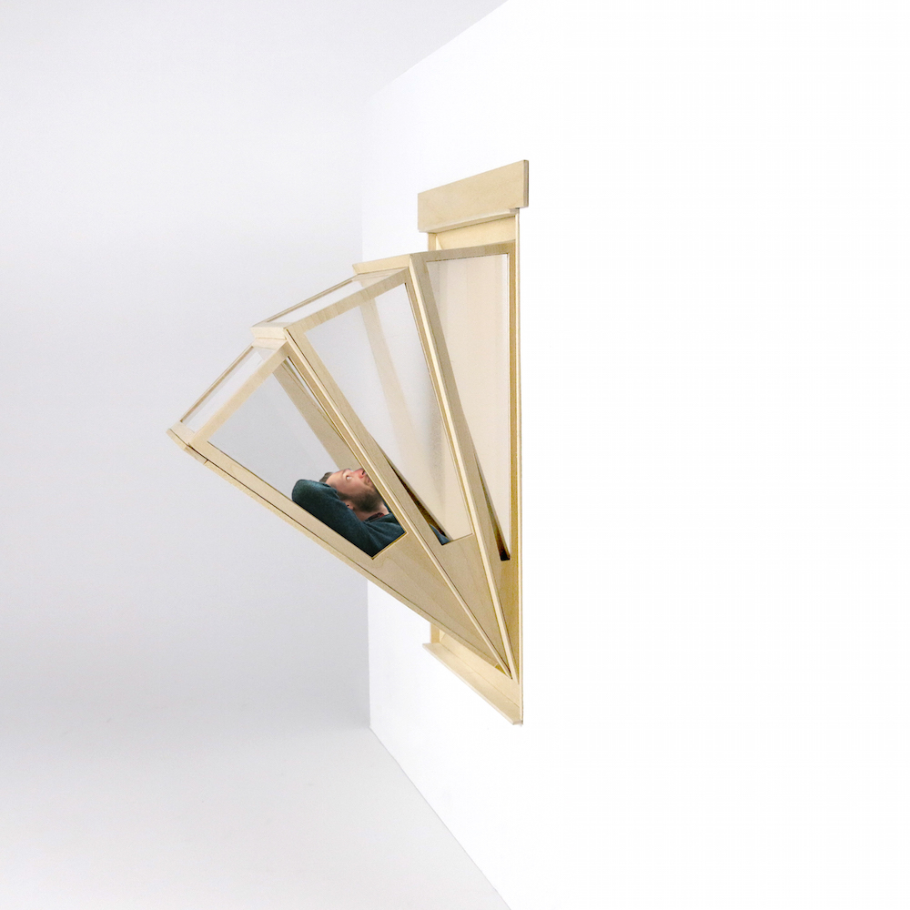 Windows that Double as Accordion Fold Skylights and Glass-Bottom Balconies