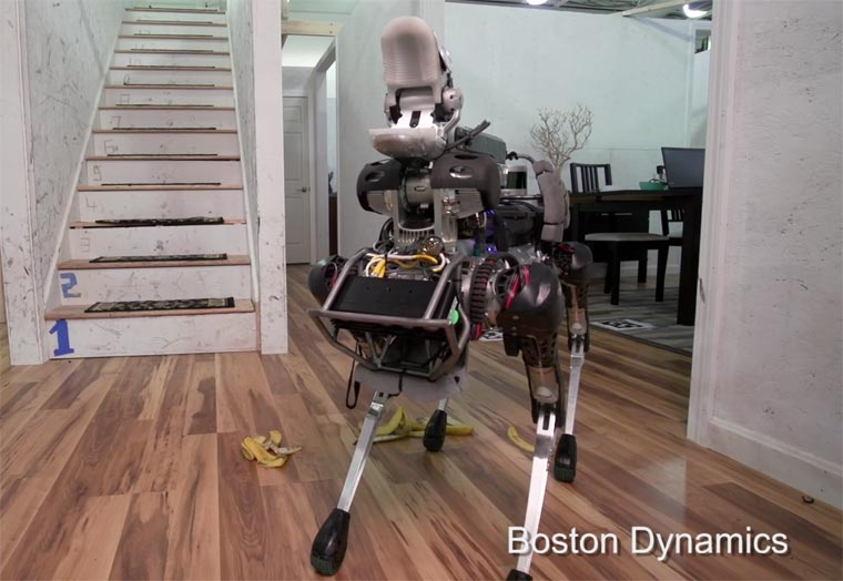 SpotMini - Boston Dynamics unveils a new very disturbing robot