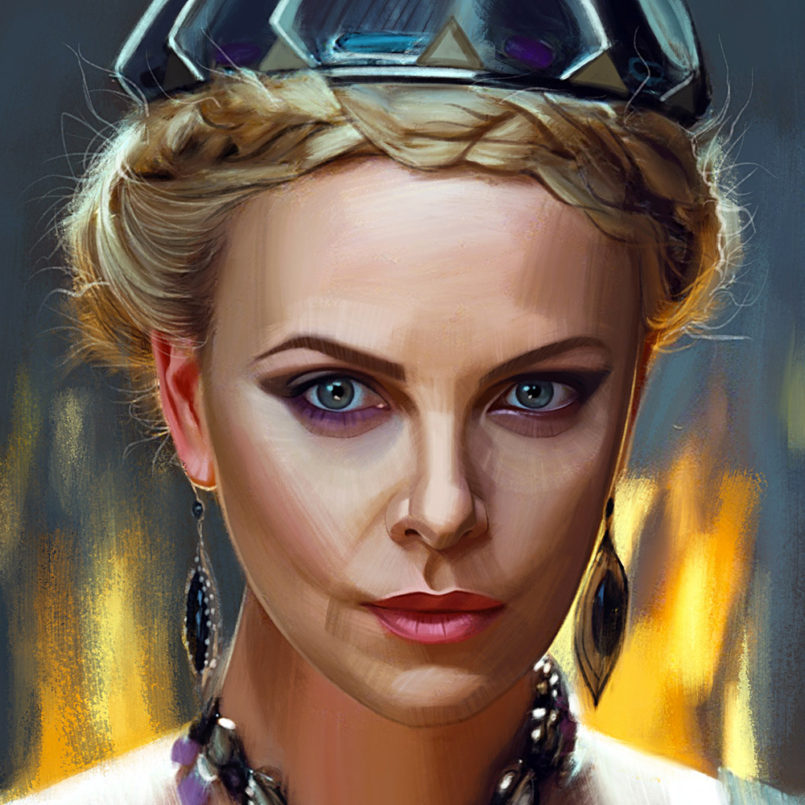 TV & Movie Character Portraits by Evgeny Lukovenko