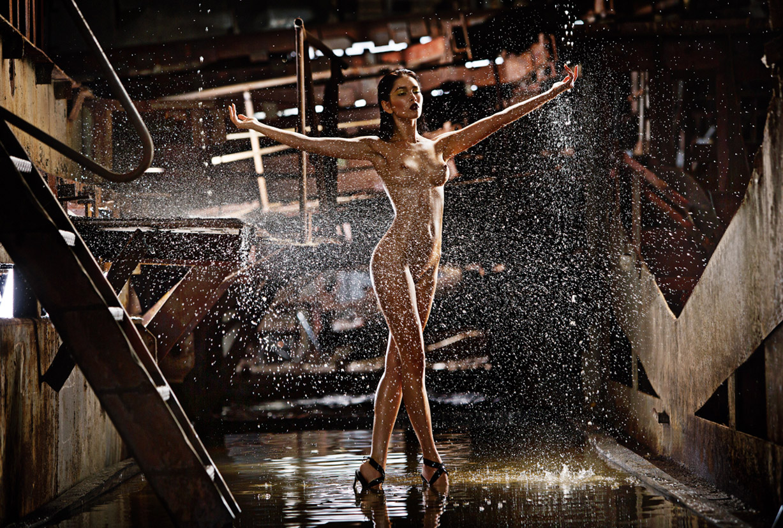 Эротический календарь Краншип / Craneship 2017 calendar / фотограф Александр Мордерер