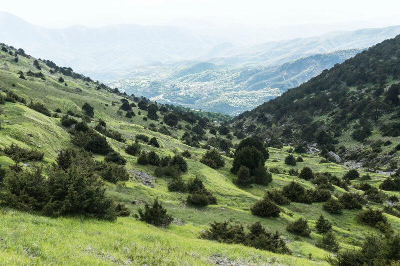 пейзаж на горе Тимфи, горы Пинд, Греция