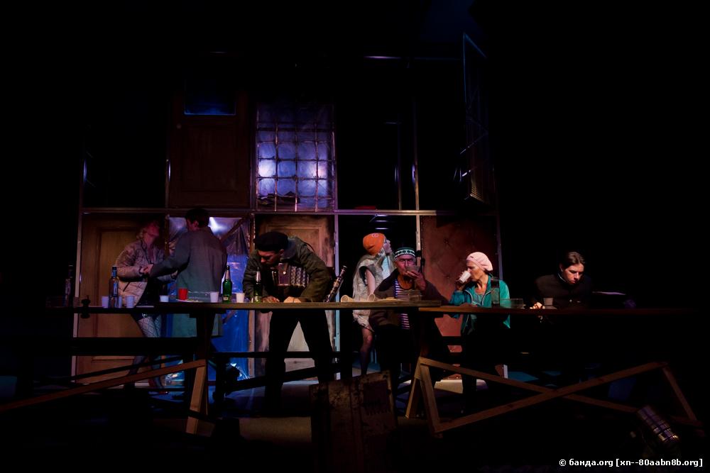 Казачий театр. Спектакль Поздняя любовь