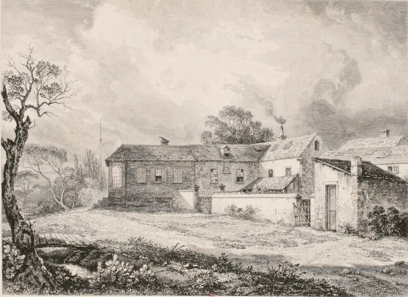 Остров Св. Елены. Лонгвуд. Дом, где жил и умер Наполеон I