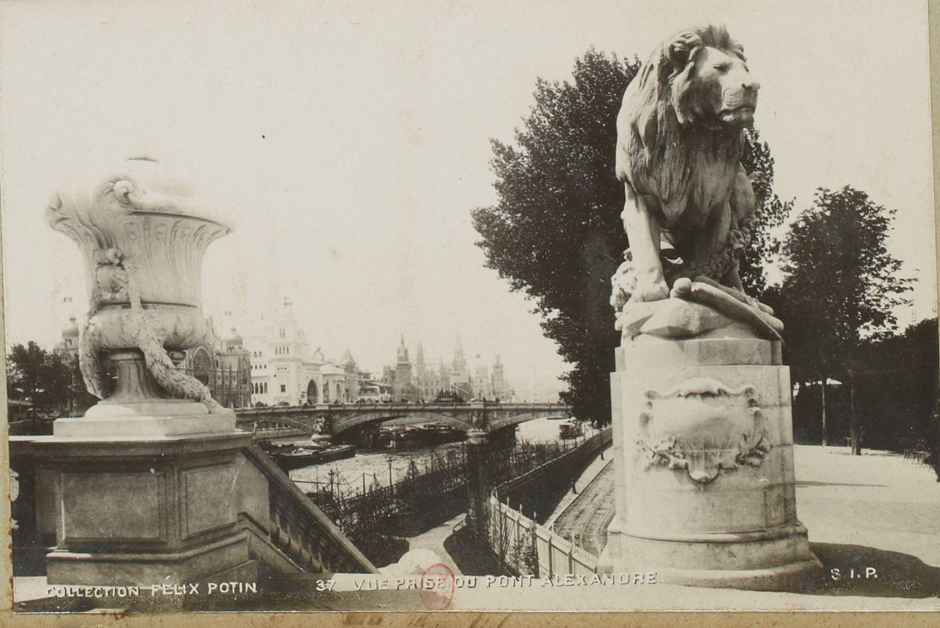 Вид моста Александра III