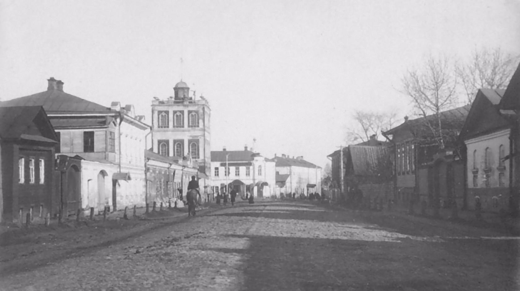 Вознесенская улица. 1900