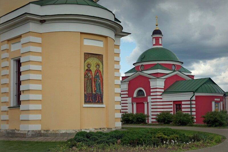 Предел Бориса и Глеба и церковь Димитрия Ростовского