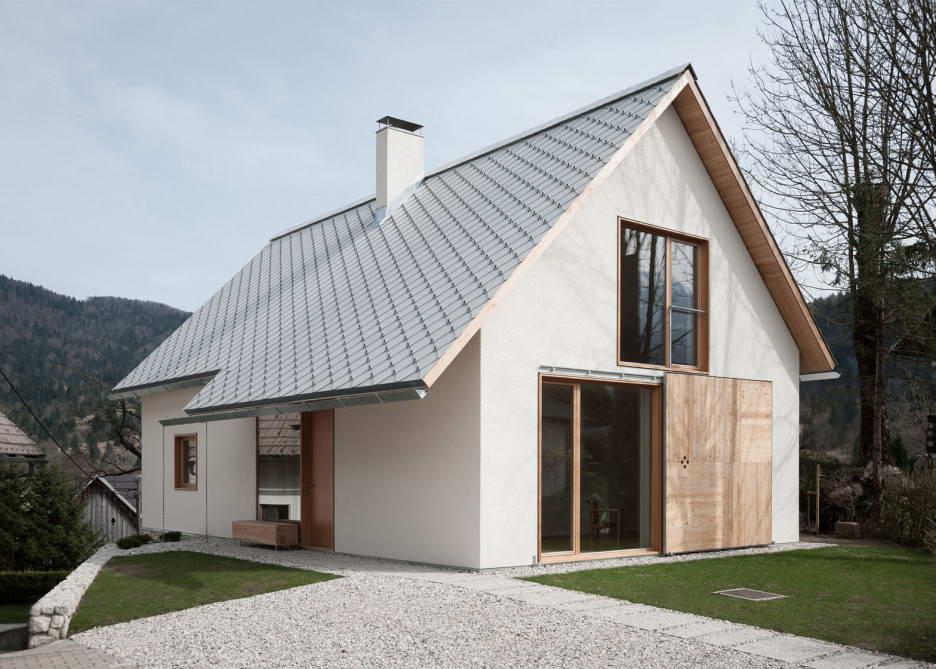 Дом в альпийской деревне в Словении