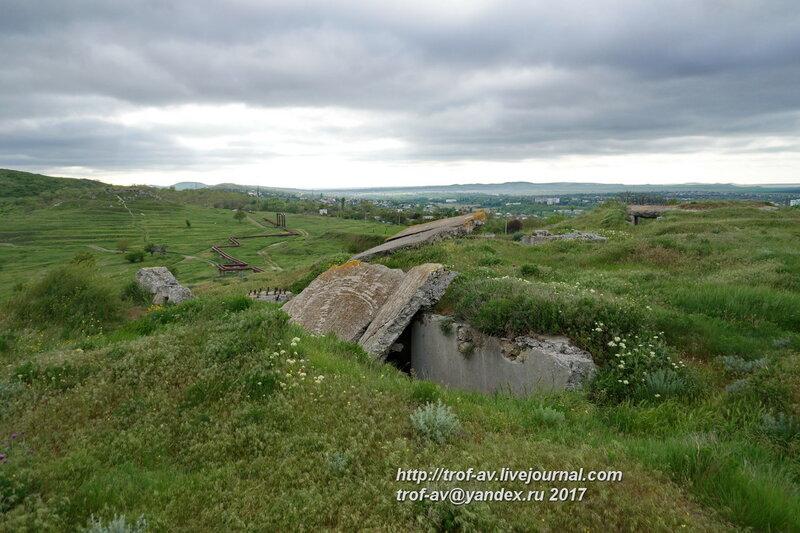 Зенитная артиллерийская батарея 68, Керчь
