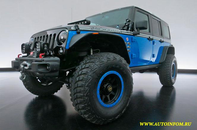Новые внедорожники Jeep 2017