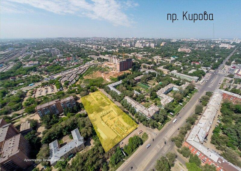 Проект жилой группы на проспекте Кирова
