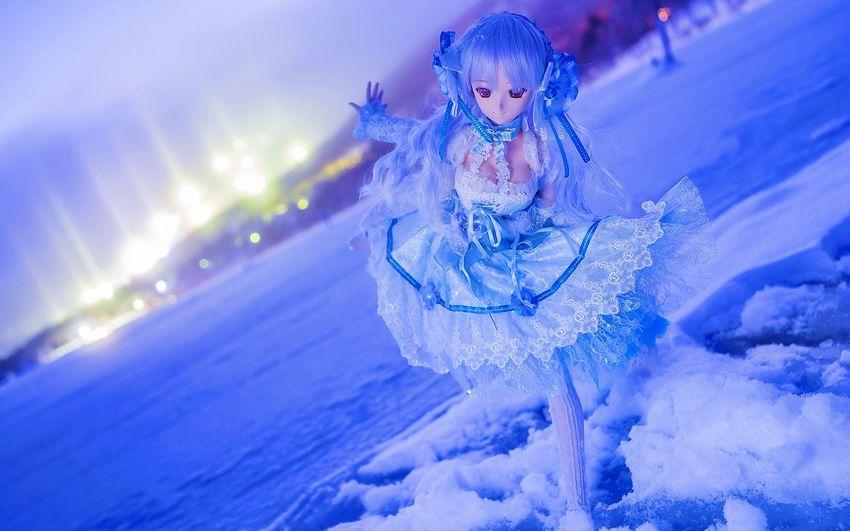Новый год, девочка, снегурочка, картинки, сказка