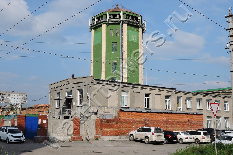 Водонапорная башня в коченево