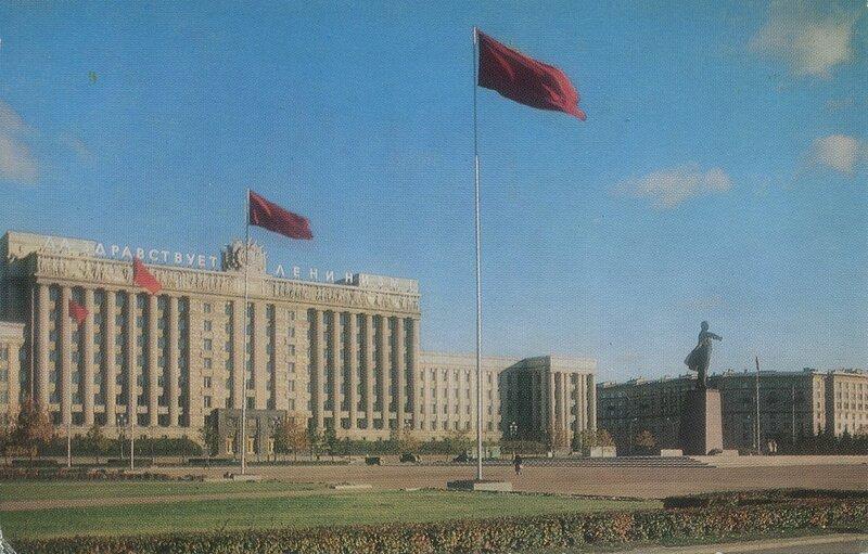 Площади Ленинграда.