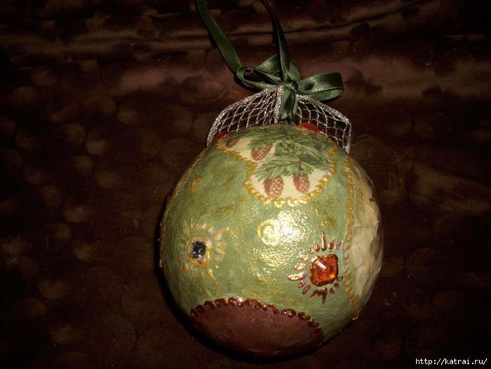 Винтажно Сказочно Новогодний: Как сделать ёлочный шарик с нуля