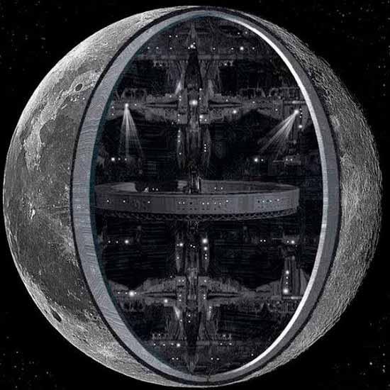 Уфологи поведали, почему Луна— это космический корабль синопланетянами