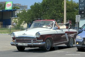 Крымское ретро на дорогах