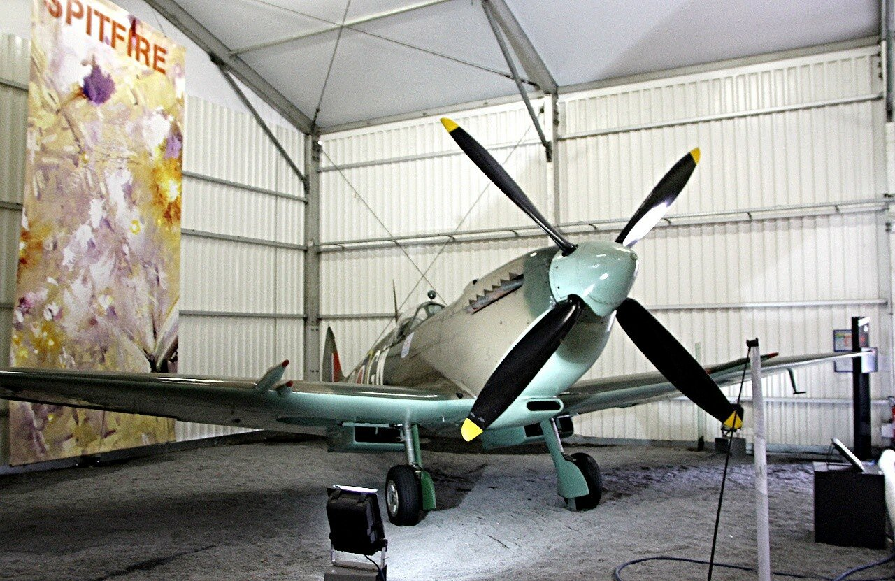 Supermarine Spitfire Mk.XVI fighter (Le Bourget aviation Museum)