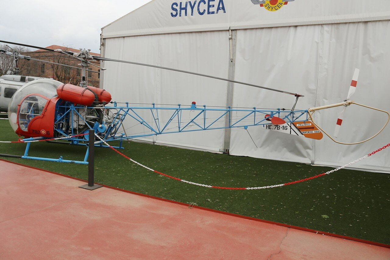 Agusta Bell 47 G3B (Museo del Aire, Madrid)