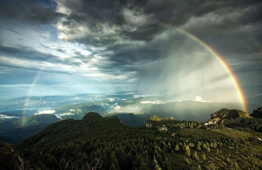 45. Горы Чахлэу. (Фото: Лаврентий Парашив)