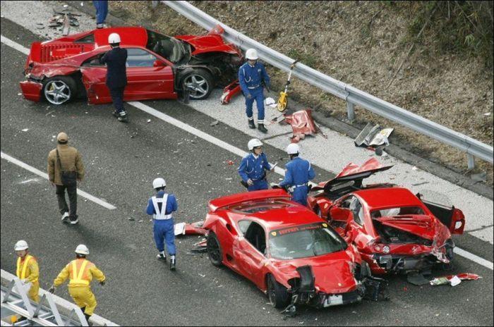 Эпическая авария (10 фото)