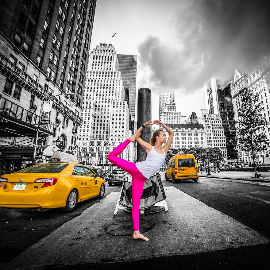 Гармония посреди мегаполиса: йога в большом городе