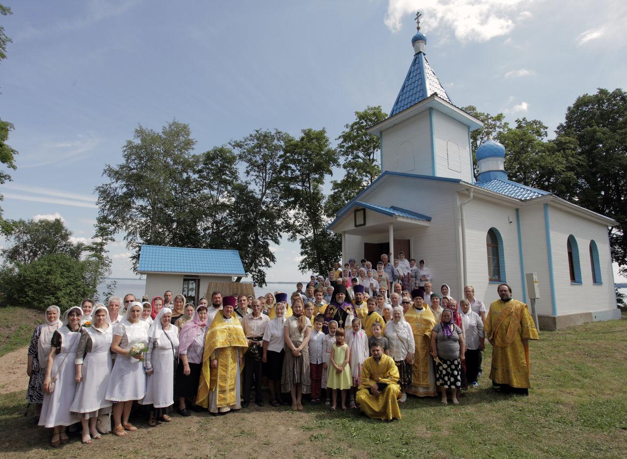 Храм Свт. Николая Чудотворца пос. Липушки