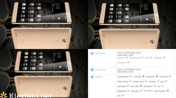 6-дюймовый ZTE Axon Max 2 появился вбазе GFXBench