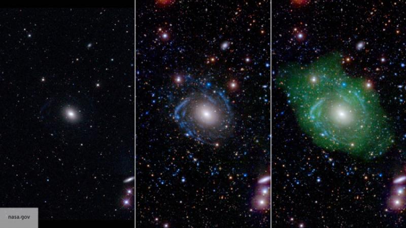 Ученые обнаружили галактики, которые нарушают законы обычной материи физики