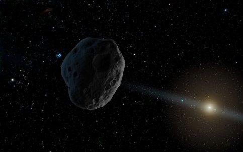 Большой астероид рухнет наЗемлю зимой иможет поднять цунами