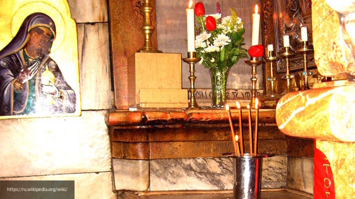 Завершилась реставрация часовни над Гробом Господнем