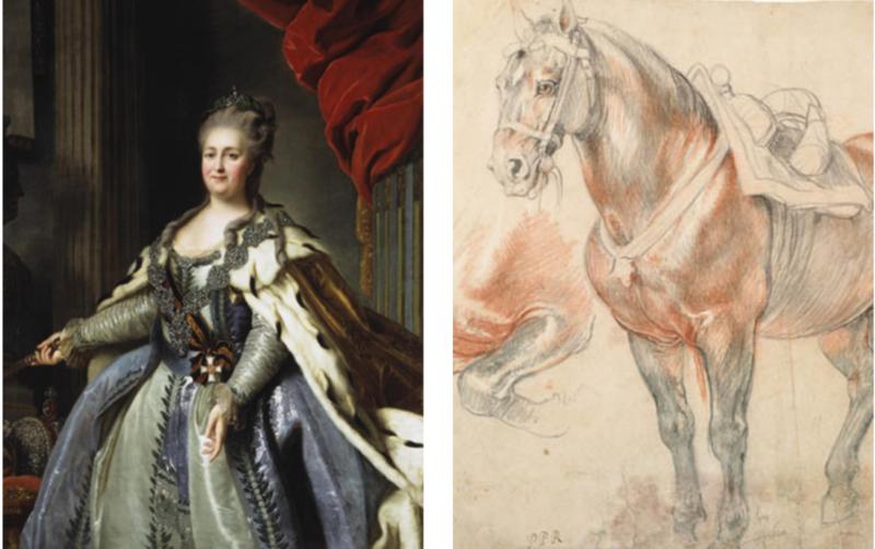 Секс елизаветы с конем