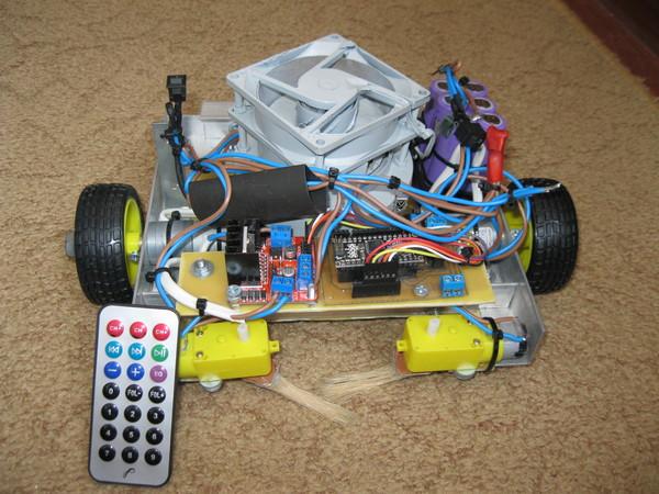 Робот-пылесос своими руками