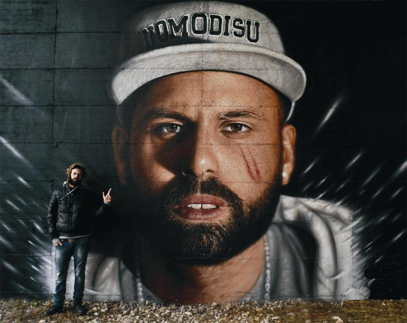 Street Portraits by Jorit Agoch Striking hyper-realistic murals by Italian graffiti artist Jorit Ago