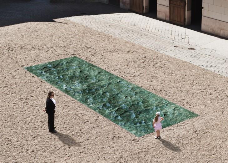 Petite Loire installation by Mathieu Lehanneur