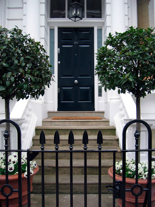 London Living Recreate this classic British style with a London borough style panelled door. Darker