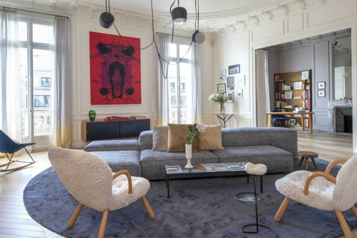 Trocadero Apartment by Rodolphe Parente