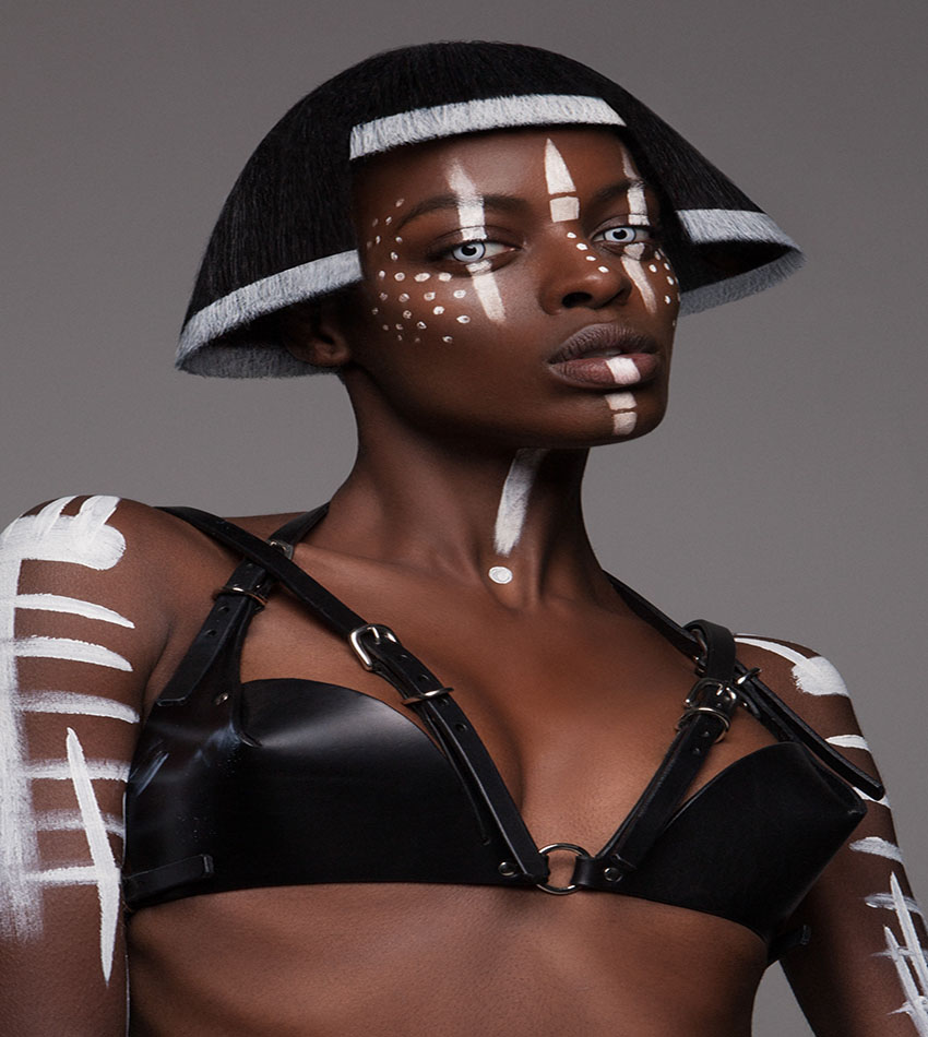 Lisa Farrall – British Hair Awards 2016 - Afro Finalist Collection